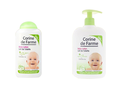 CDF Baby Lotion Size: 250ml and 500ml