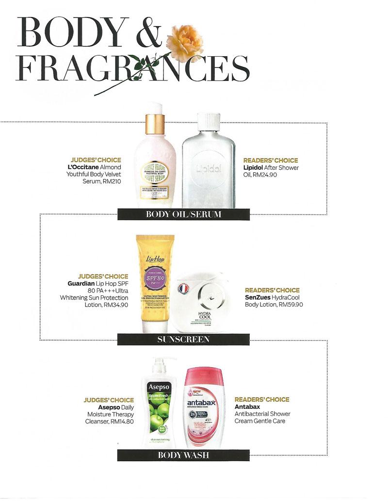 Body & Fragrances
