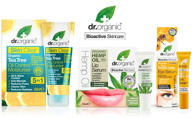 dr. organic bioactive skincare